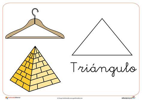 Figuras Geometricas Triangulares | formas y figuras geom 233 tricas el tri 225 ngulo