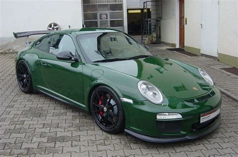 porsche racing green spotlight racing green porsche 997 gt3 rs