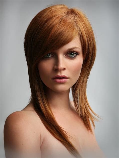 long hair sweeped side fringe shaved side swept bangs with long hair hairstyles pinterest