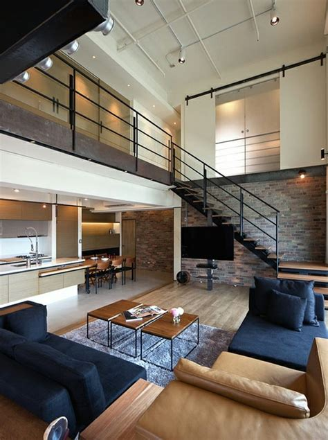 asian interior design trends in two modern homes with salon d 233 co style industriel en quelques exemples