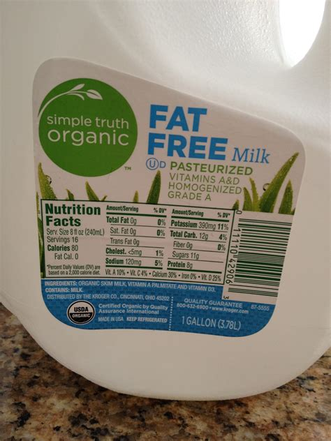 Why Does Organic Milk A Longer Shelf by Kroger Simple And A Giveaway Now Closed Take