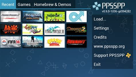 ppsspp roms for android ppsspp psp emulator play de android uygulamaları
