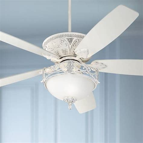 casa contessa ceiling fan 60 quot casa vieja montego rubbed white ceiling fan with light