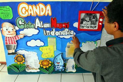 desain mading kelas tentang dirgahayu indonesia menyaikan pesan lingkungan melalui mading sekolah