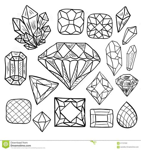 printable coloring pages gemstones coloring pages gems and crystals coloring pages