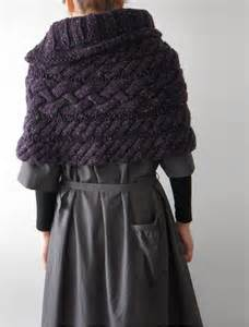 knit cape knitted cape knitting