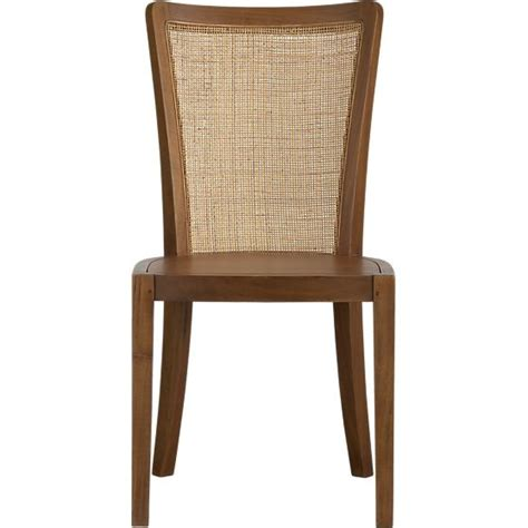 dining chair west elm: calista side chair and natural cushion in dining chairs crate and