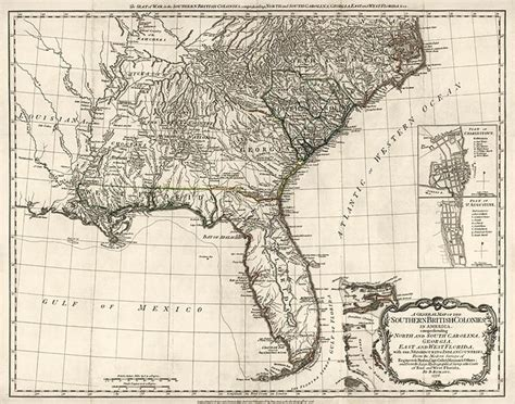 map us colonies 1776 map of the southern colonies in america