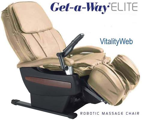 rms  elite robotic home massage chair  interactive health  gravity ultimate