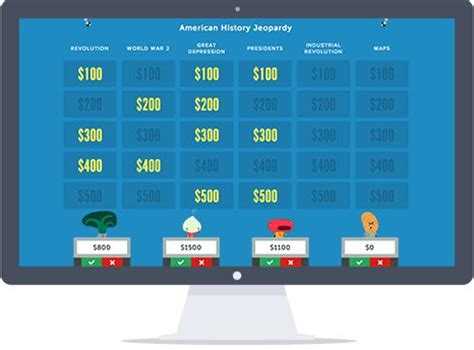 Jeopardy Rocks Create An Online Jeopardy Game In Minutes It S Free Easy And Loads Of Fun Jeapordy Maker