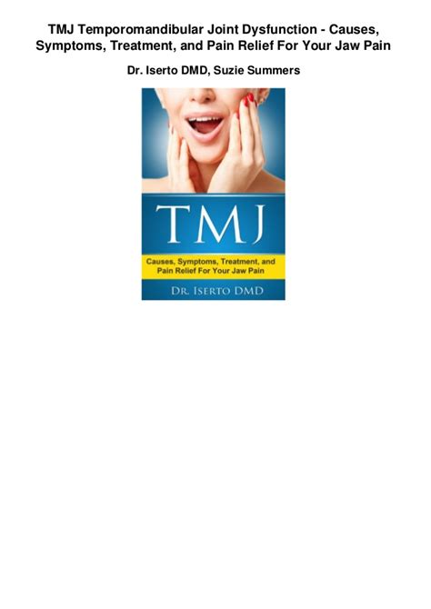 tmj temporomandibular joint dysfunction causes symptoms