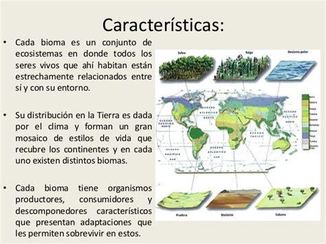 libro que son los biomas biomas terrestres