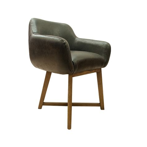 Leather Tub Dining Chairs Hugo Dining Chair Tub Brown Urbano Interiors