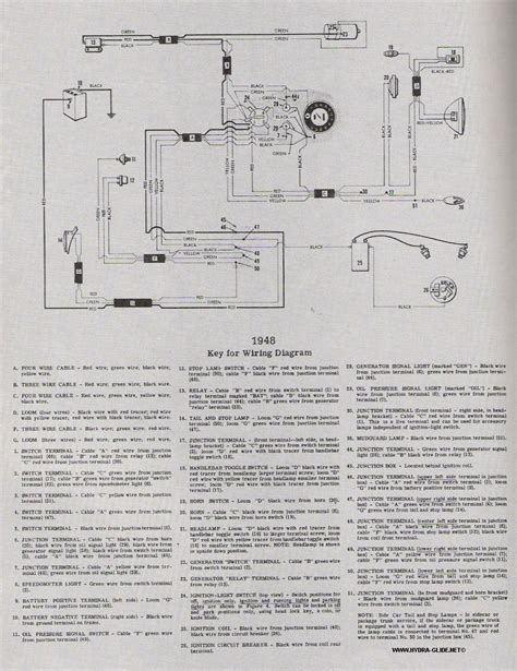 1951 wl wiring questions the panhead flathead site