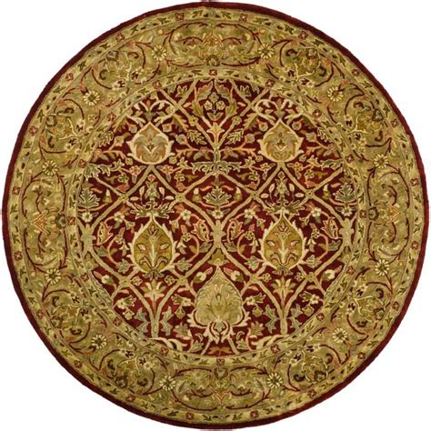 6ft circular rugs safavieh legend gold 6 ft x 6 ft area rug pl819k 6r the home depot