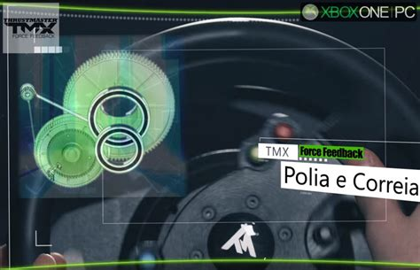 volante thrustmaster xbox one volante thrustmaster tmx feedback xbox one pc