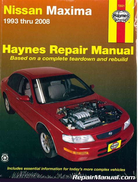 free service manuals online 1993 nissan maxima windshield wipe control nissan maxima 1993 2008 haynes auto repair manual