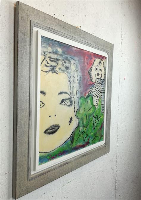 cornici quadro quadro moderno con cornice olio su tela sauro bos
