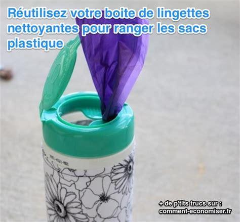 Sac Pour Ranger Les Sacs Plastiques by Comment Ranger Facilement Les Sacs Plastique