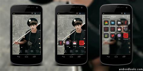 dodol launcher themes bts bts trb v android theme for dodol launcher androidlooks com