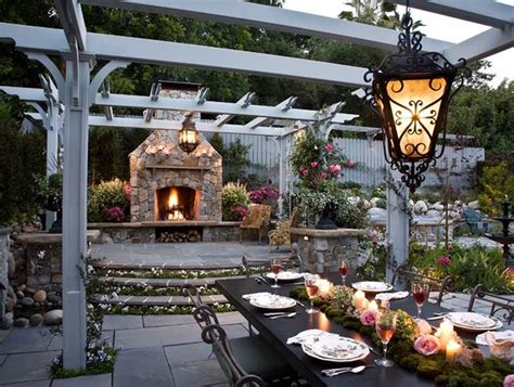 Guy Fieri Backyard Romantic Outdoor Kitchen By Heather Lenkin Garden Design