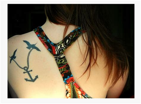 cute girly tattoos 28 beautiful anchor designs