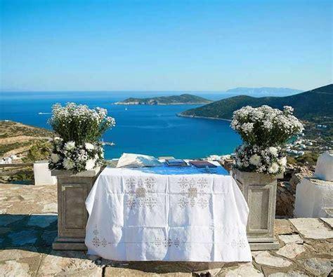 Italian Casual Chic Wedding at Sifnos  Lazarou Beach