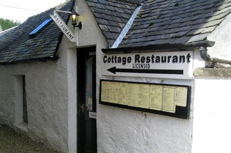 Cottage Restaurant by The Cottage Restaurant Inveraray Picture Of The Cottage