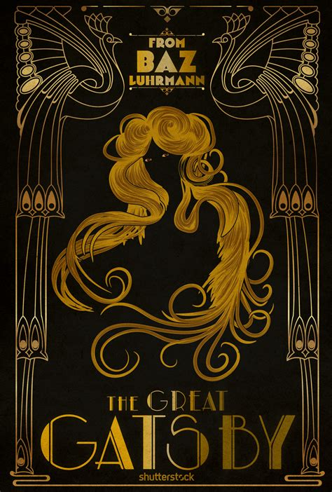 loneliness theme in the great gatsby cannes goes gatsby an art nouveau take on festival