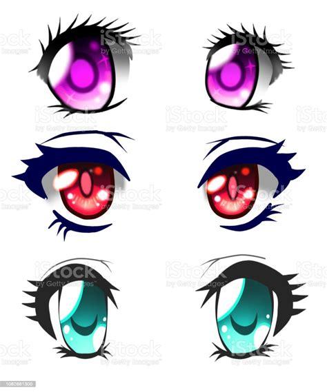 anime eyes stock illustration  image  istock