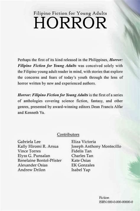 literature stories philippine genre stories
