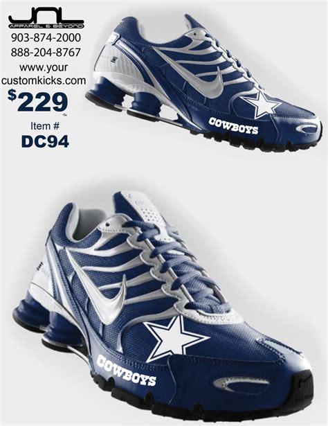 nike football team shoes custom dallas cowboys nike turbo shox team shoes hubby