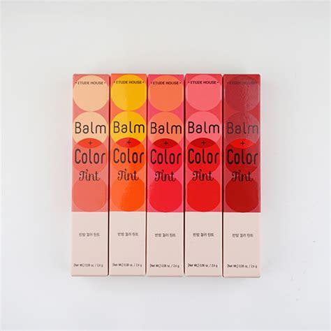 Etude Tint etude house balm color tint review