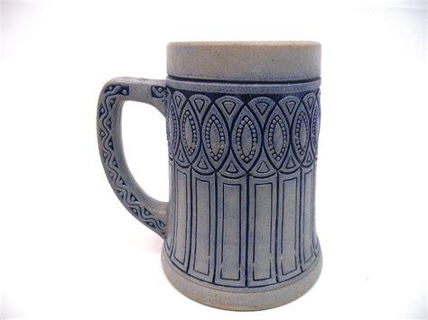 Mug Keramik Kartun 1 Jugendstil Bierkrug Um 1910 Keramik Mug Stein 25 00