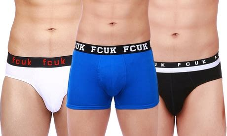 men's fcuk underwear four pack for aed 149 with free