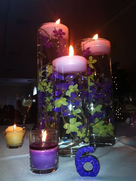 Vases With Floating Candles And Flowers by Pin By Danielle On Wedding Ideas