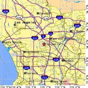 vernon california ca population data races housing