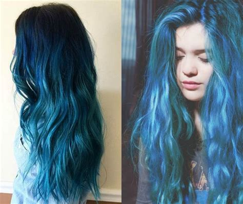 hait color sea and sky blue hair color 2017 you will adore pretty