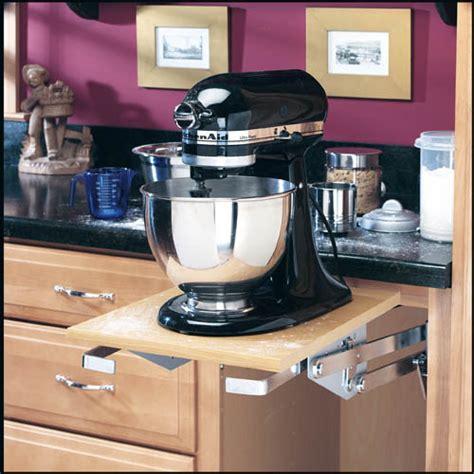 kitchen appliance cabinet storage rev a shelf mixer appliance lift mechanism eclectic