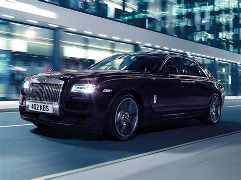 rolls royce ghost v specification limited edition custom