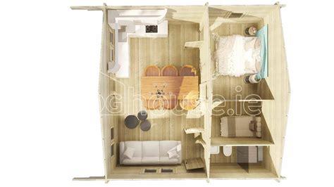 loft log cabin b 6m x 6m loghouse ie