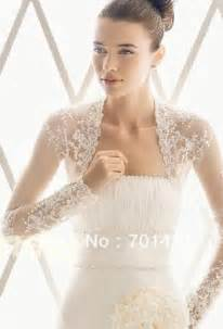 aliexpress com buy custom long sleeves lace bridal