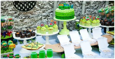 ninja turtle themed birthday party teenage mutant ninja turtle inspired birthday party