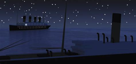 why did the titanic sink did the titanic sink because of an optical illusion