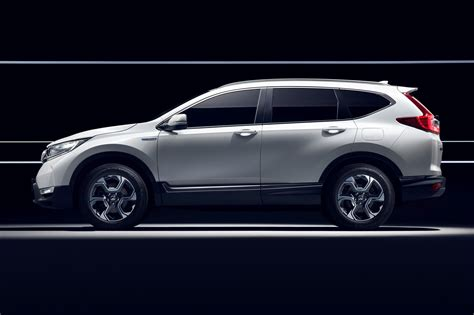 Honda Crv Hybrid 2018 by Hybridised Honda Suv New Cr V Hybrid Prototype Hits