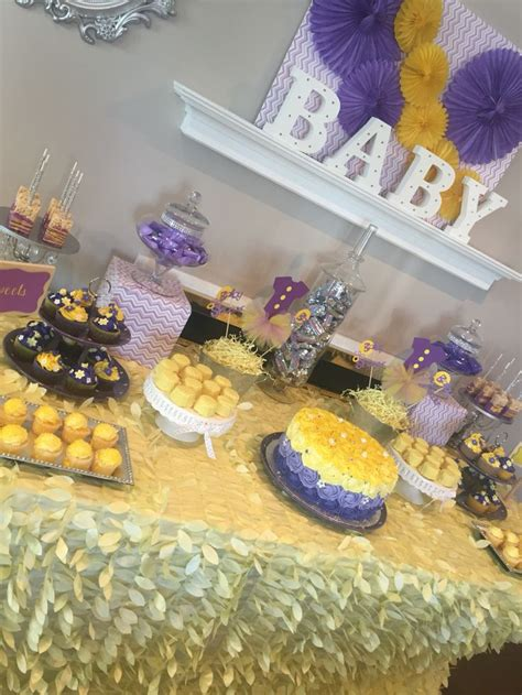 Yellow And Purple Baby Shower by 8 Best Images About Purple And Yellow Baby Shower On