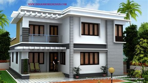 south indian home 3d exterior design by shiaz