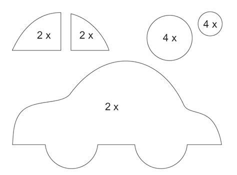 moldes carros en fieltro carrinho de eva passo a passo com molde artesanato passo