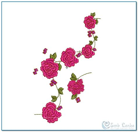embroidery design rose flower the gallery for gt embroidery designs rose flowers