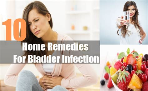 10 best home remedies for bladder infection